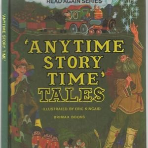 Vintage 1979 anytime story time book